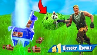 The C4 DIAMOND LLAMA TRAP In Fortnite Battle Royale!