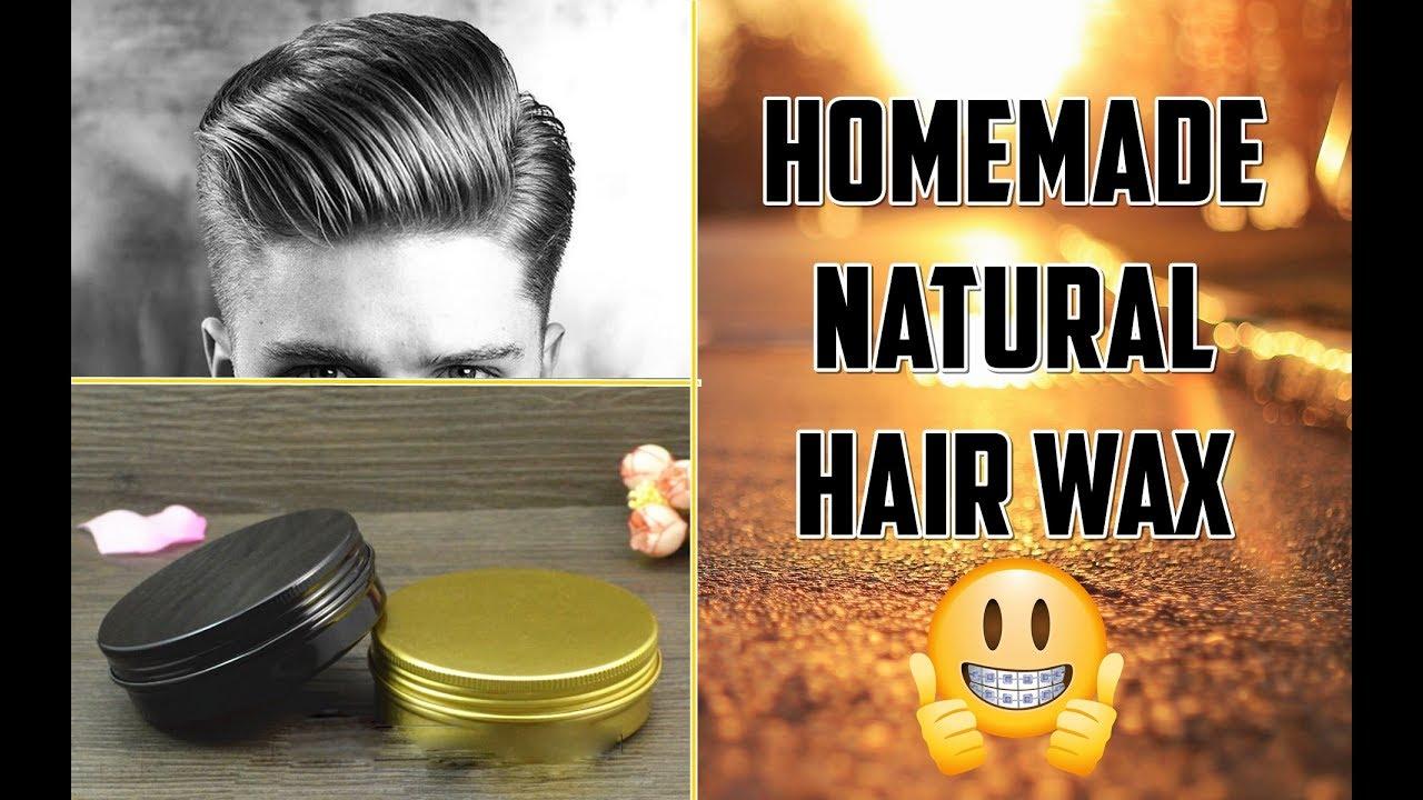 make hair wax home
