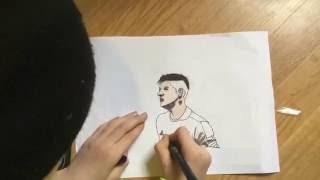 MARCOS ROJO ( drawing )
