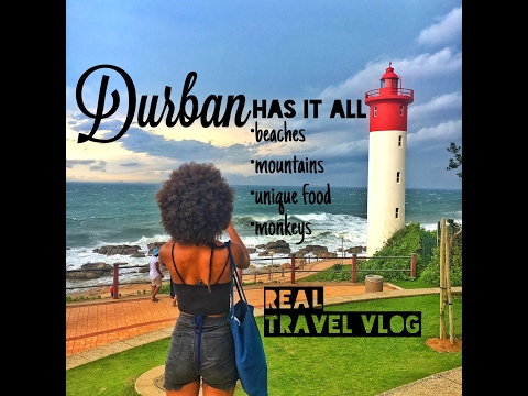 REAL TRAVEL VLOG • BIG DAY IN DURBAN: motorbike meet, mountain ride, beach and local African cuisine