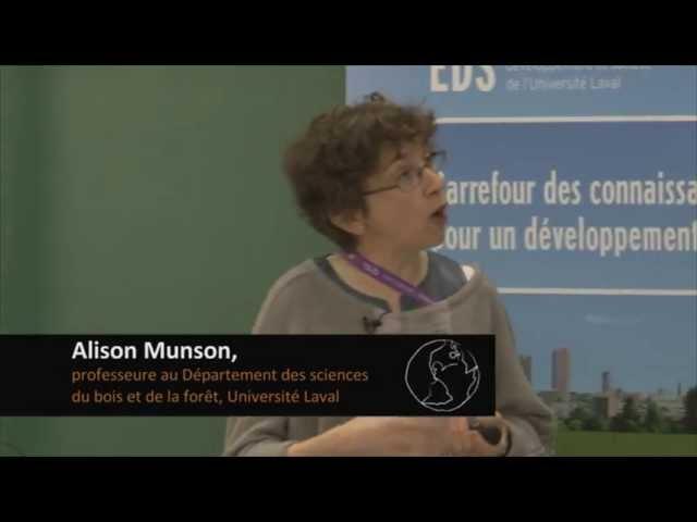 A. Munson, H. Trudeau et D. Berteaux - Liens entre biodiversité et développement durable