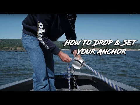 How To Properly Anchor Your Boat | Columbia River Anchoring Series Ep. #2