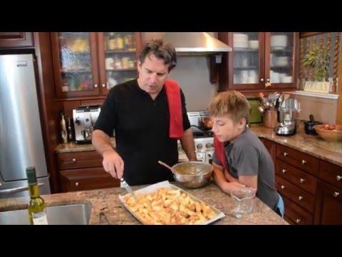 Apple Dumplings with Ice Cream   Cooking Italian with Joe