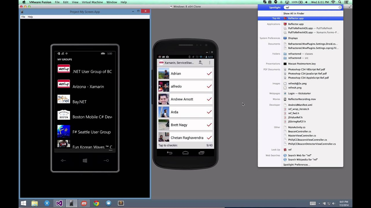Screen Mirroring for iOS, Android, and Windows Phone - James