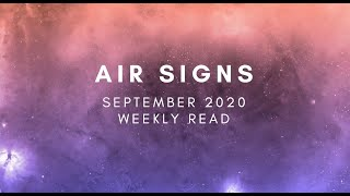 Air Signs (Libra, Aquarius, Gemini) Weekly Read: New Moon in Virgo