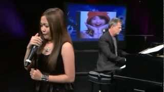 Charice & David Foster — 'Note to God' @ WGN Chicago Mp3