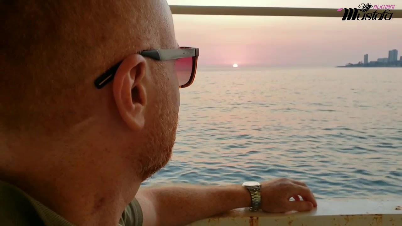 شاهد لحظة اختفاء الشمس في البحر مع مصطفى الخاني ، ومع أغنية يا شمس يا منورة غيبي بصوت ليندا بيطار