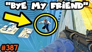 FROM ENEMY to BEST FRIEND in 1 sec.. - CS:GO BEST ODDSHOTS #387