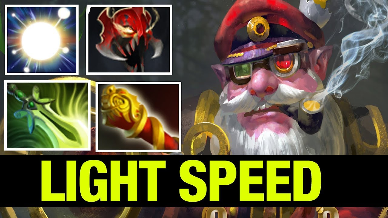 Miracle And The Light Speed Sniper Dota