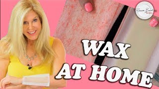 HOW TO | Wax your Legs, Arms, Face, Brazilian Bikini Wax at Home |  Easy Waxing Privately