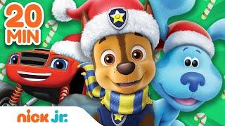 Nick Jr Christmas 2021 Nick Jr Saves Christmas W Paw Patrol Bubble Guppies Blaze Nick Jr Youtube
