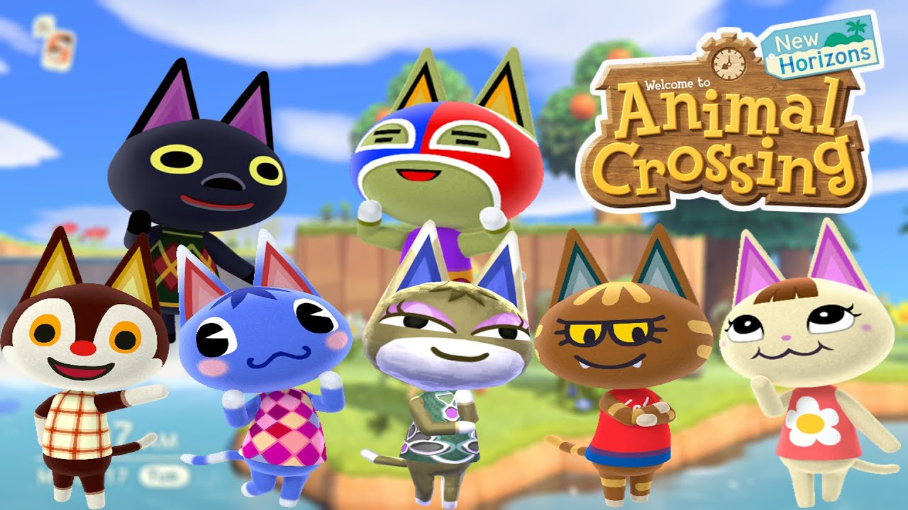 Animal Crossing New Horizons We Have Another Cat Villager Our