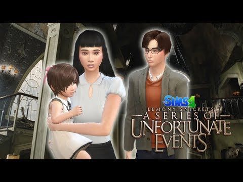Creating the Baudelaire children on The Sims 4 (A Series of Unfortunate Events #1)