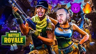 LosPollosTv & LSK Fortnite Duos Trying To Get First W Together (Close Ending)