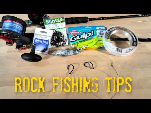 Rock Fishing Tips - What Gear And Tackle To Bring