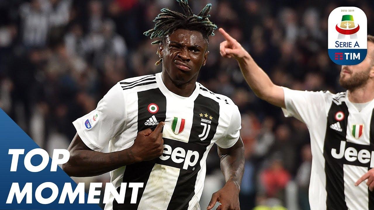 Kean Can Not Stop Scoring Juventus 2 1 Milan Top Moment Serie A Youtube