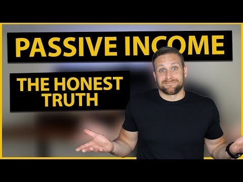 The Truth About Passive Income And Making Extra Money