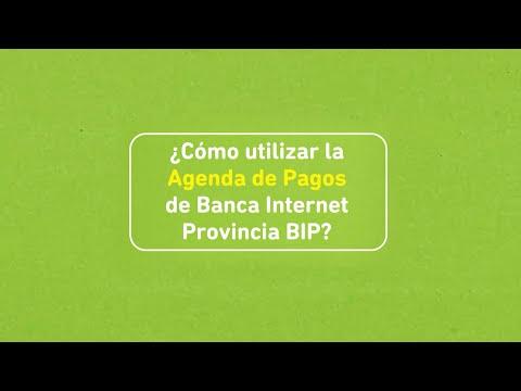 Banco Provincia | Buenos Aires | Tutorial | Agenda de Pagos