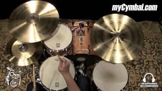 "Sabian 20"" AA Raw Bell Crash Cymbal (2200772-1042215Z)"