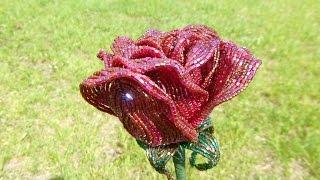 Видеоотчёт №1: Что я сейчас плету? Закрытая роза из бисера