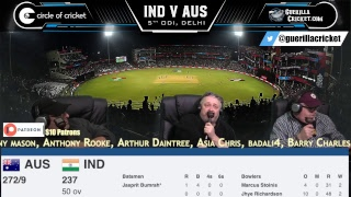 IND v AUS 5th ODI, Delhi - 2nd innings