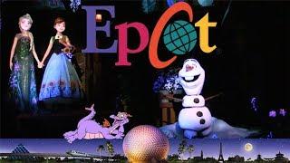 Disney World ~ Epcot & New Frozen Ride