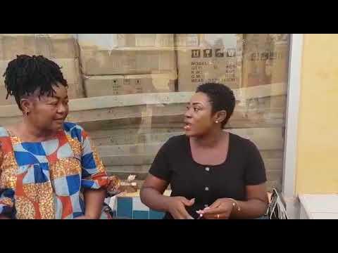 Download Tilapia Christiana Awuni comedy with Emelia Brobbey