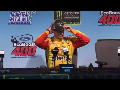 Joey Logano talks winning championship
