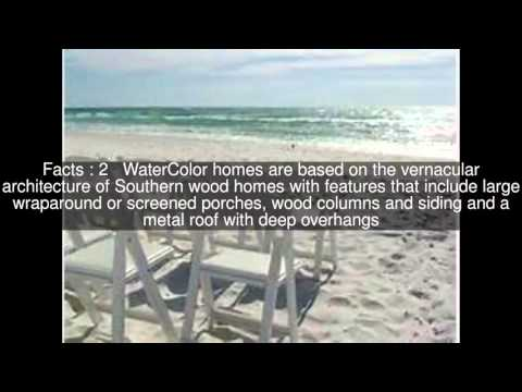 WaterColor, Florida Top  #6 Facts