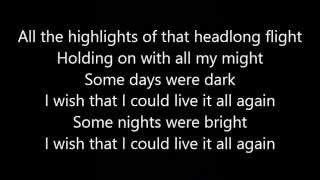 Rush - Headlong Flight (Lyrics)