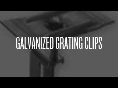 Grating Saddle Clips