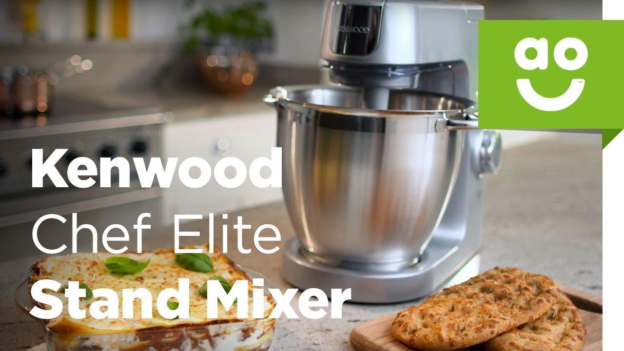 Kenwood Chef Elite Stand Mixer Ao Com Youtube