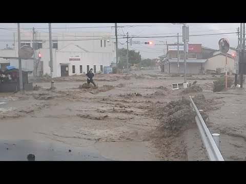 九州に記録的豪雨で甚大な被害だ。