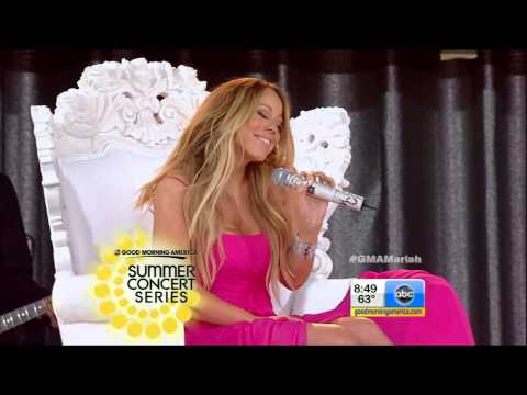 [HD] Mariah Carey - #Beautiful feat. Miguel - Live on Good Morning America (Real Version)