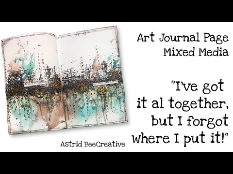Repeat I Ve Got A Good Heart But This Mouth Art Journal