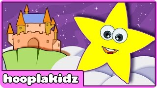 Twinkle Twinkle Little Star | Nursery Rhymes | Lullabies by HooplaKidz thumbnail