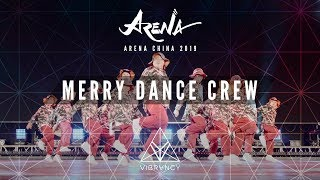 Merry Dance Crew Arena China Kids 2019 VIBRVNCY Front Row 4K