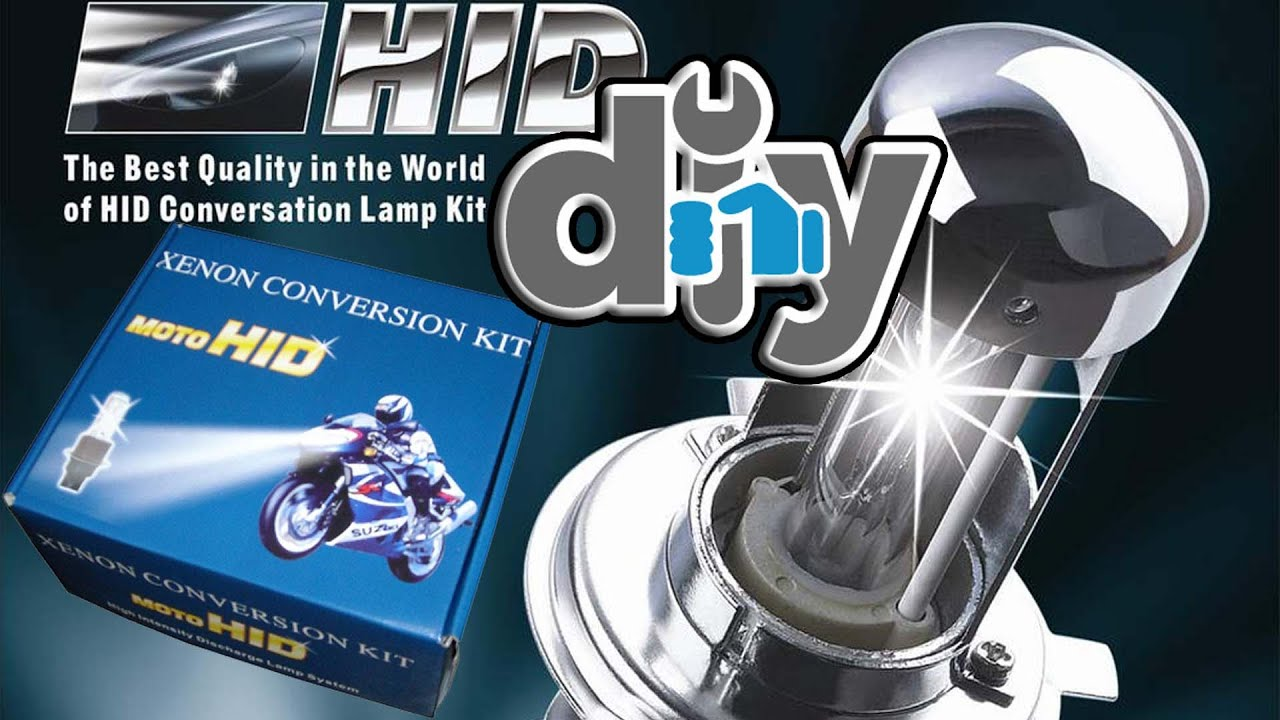 How To Install HID lights on your motorcycle DIY