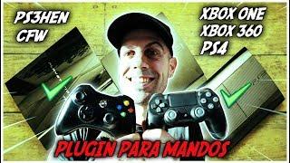 Plugin para Usar Mandos de Xbox 360/One y PS4 en PS3HEN OFW y CFW   2019