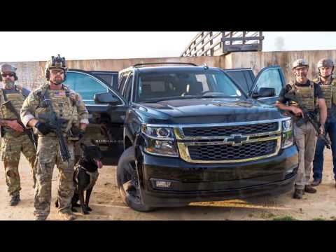 How military contractors use their vehicles to fight