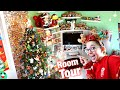 ULTIMATE Disney Christmas Room Tour!! Popcorn Buckets, Ornaments, Pins, Funko Figures, & MORE!! 2019
