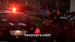 LAPD arrest man for Disturbing the Peace at venice beach