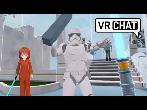 VRChat: The Tomato Jedi (Virtual Reality)
