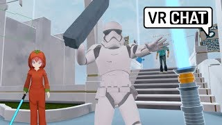 One of Ryan Powell's most viewed videos: VRChat: The Tomato Jedi (Virtual Reality)