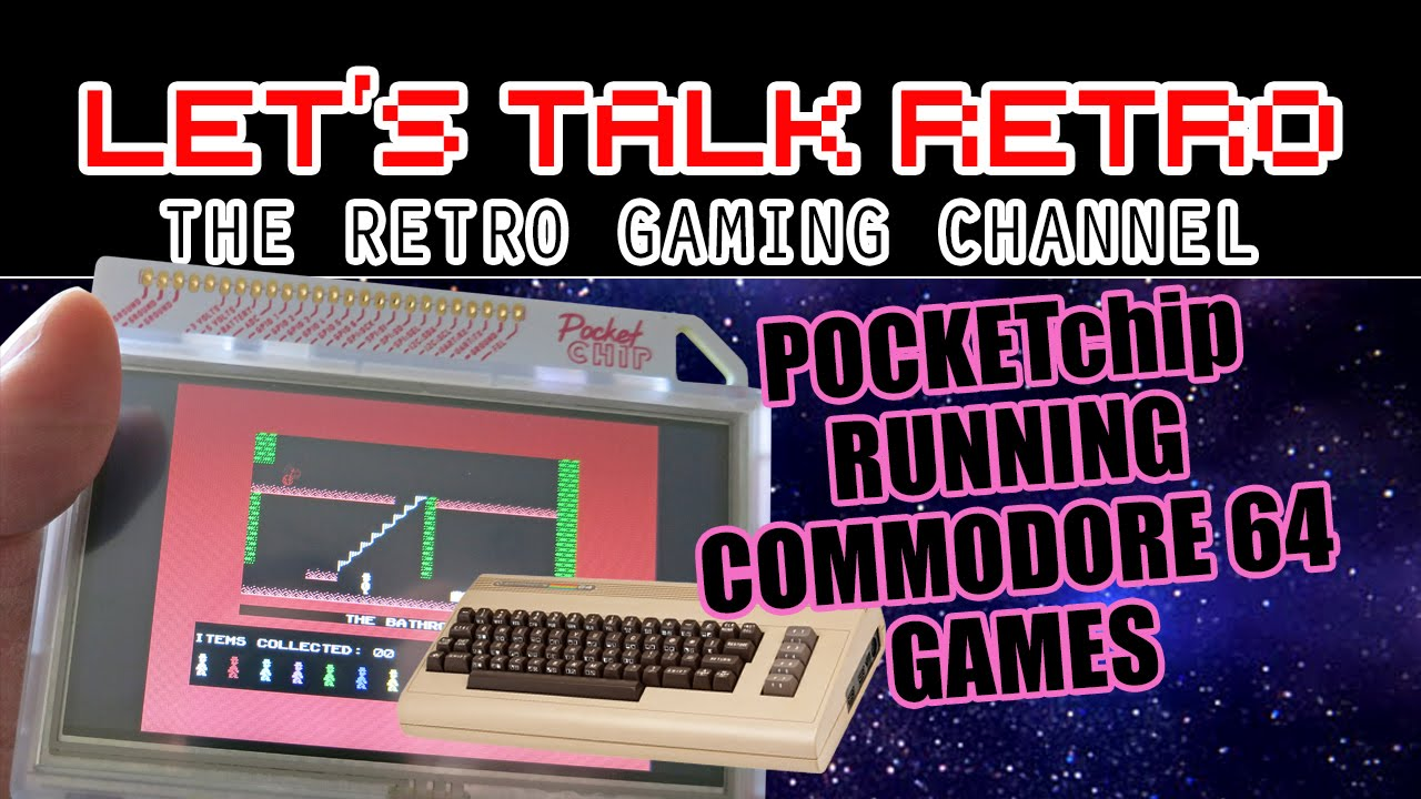 Commodore 64 Games Running on the Pocket Chip Portable
