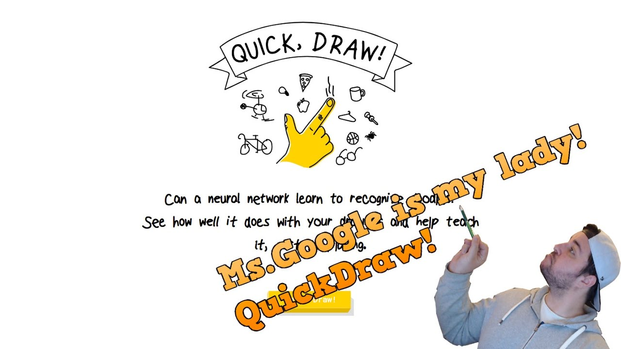 Ms Google Is The Best Google Quickdraw Youtube