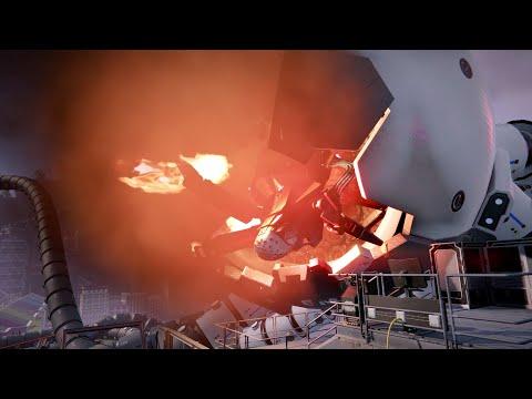The Surge 2 Cain   Core Protector Boss Fight Kraken DLC |