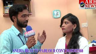 Arh News the business show at Sneha beauty parlour