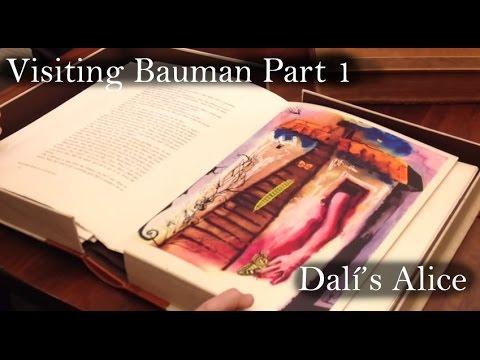 Salvador Dali's Alice in Wonderland:  Visiting Bauman Rare Books Part 1 of 5