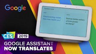 Google Assistant's new interpreter mode erases language barriers